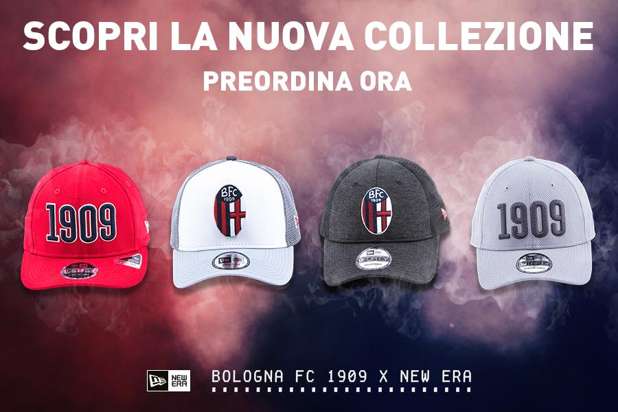 Bologna Fc 1909 cap New Era Navy Bologna FC Unisex Adulto